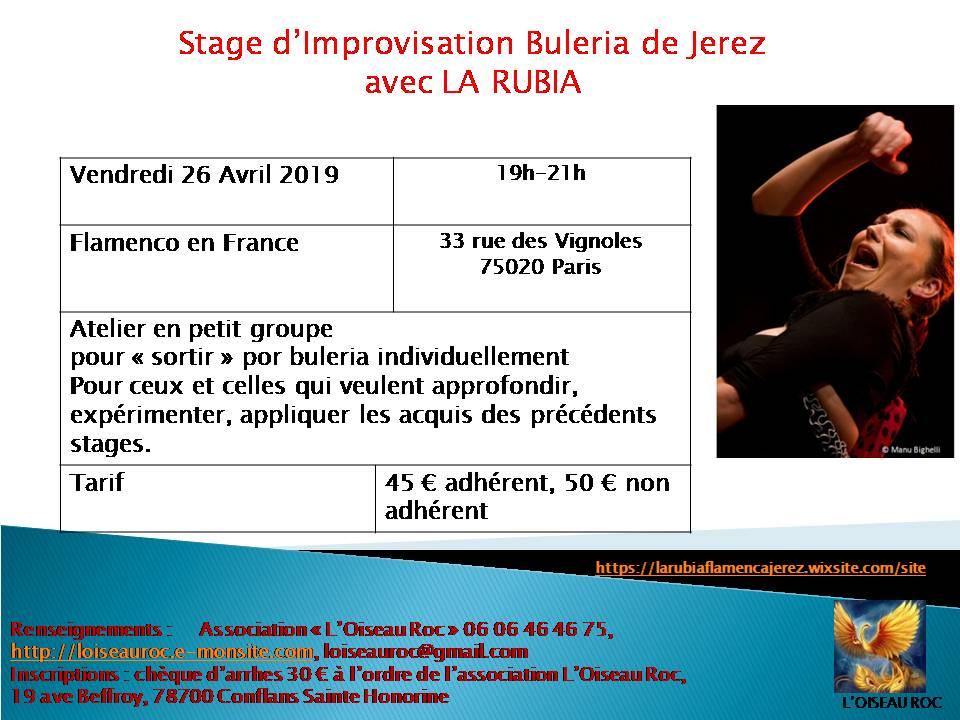 Stage rubia avril2019 buleria2